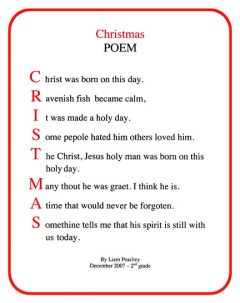 Poems About Christmas.C Is For Christmas Poem Merry Christmas And Happy New Year 2018